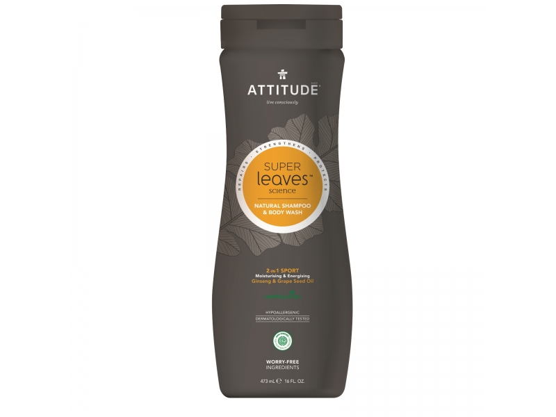ATTITUDE Super-leaves Sport 2-in-1 473ml